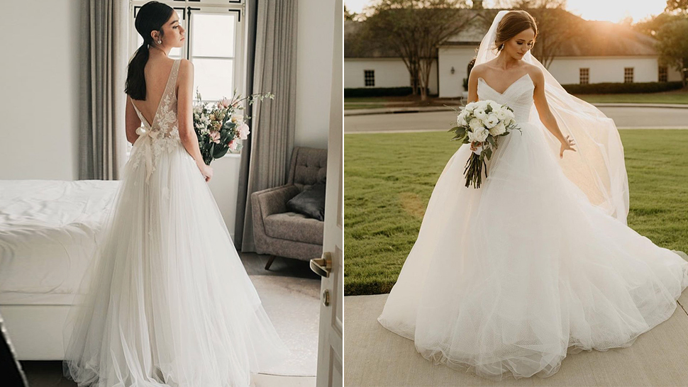 12 Dreamy Tulle Wedding Dress Ideas That Will Make You Feel Like A Fairytale Bride