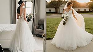 12 Dreamy Tulle Wedding Dress Ideas That Will Make You Feel Like A Fairytale Bride