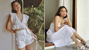 10 All-white Outfit Ideas That Are Perfect For The Summer, As Seen On Stylish Influencers
