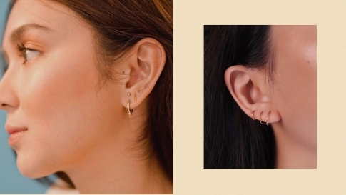 Where To Buy Minimalist Studs And Hoops For Your Multiple Ear Piercings