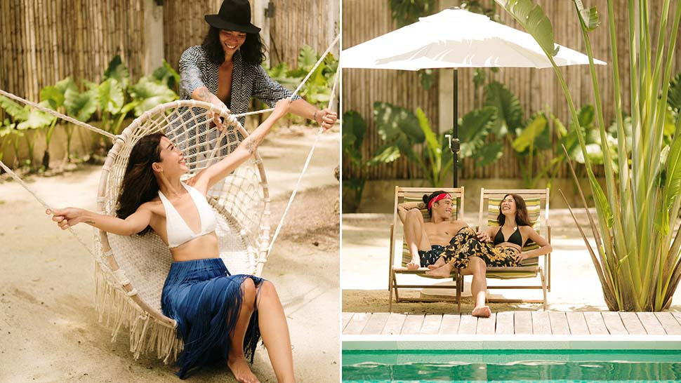 "We Love Rhea Bue And Jeff Ong's Super Chill ""self-styled"" Prenup Shoot In Siargao"