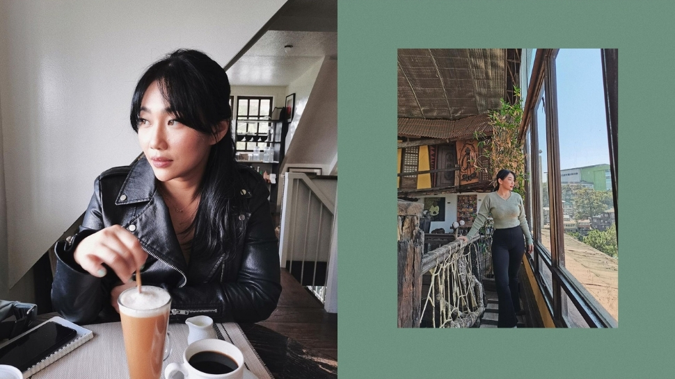 Here Are All The Aesthetic Cafes Raiza Contawi Went To In Baguio