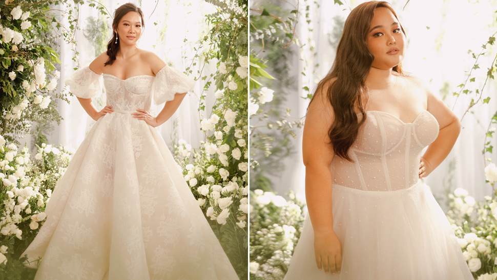 This Gorgeous Wedding Gown Collection Is Inspired By Real Brides