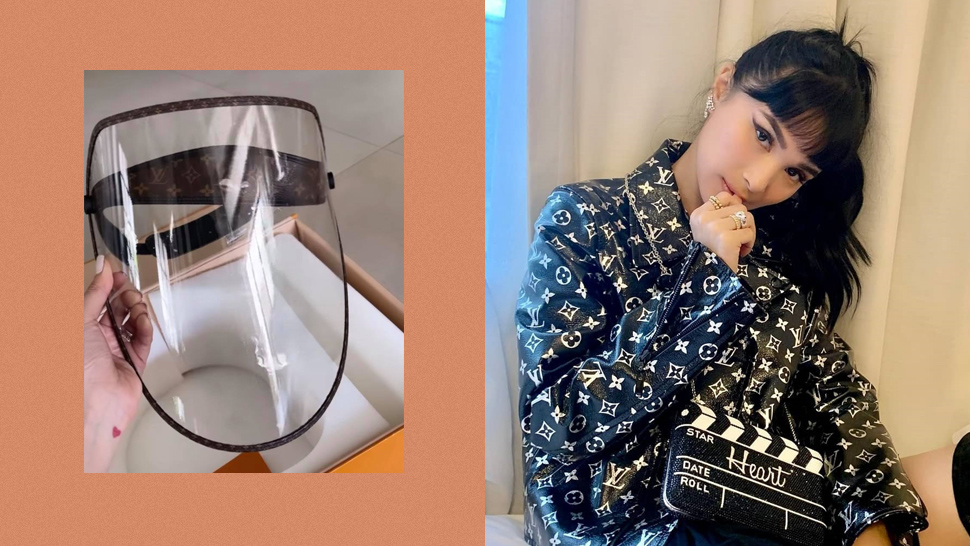 Heart Evangelista Just Received a Louis Vuitton Face Shield and Even She Can't Believe It