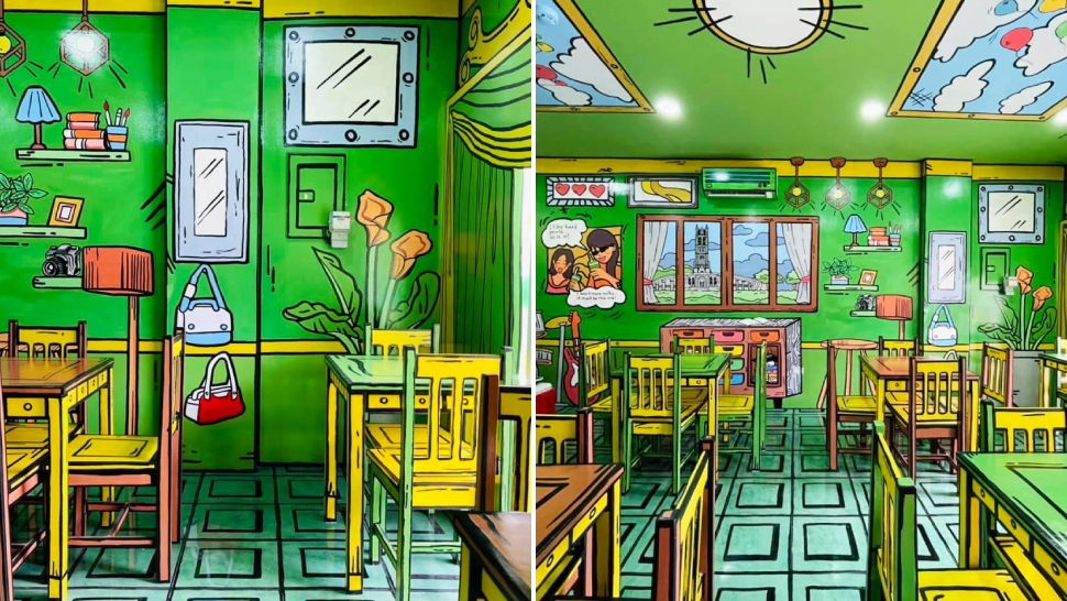 This Newly Opened Milk Tea Shop In Bulacan Looks Exactly Like A Comic Book