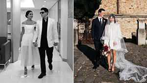 12 Short Wedding Dress Ideas That Are Perfect For The Cool, Practical Bride