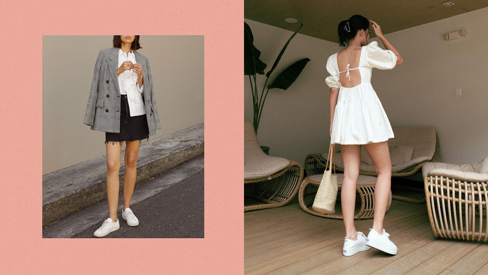 6 Classic Sneaker Outfit Combos That Always Look Chic