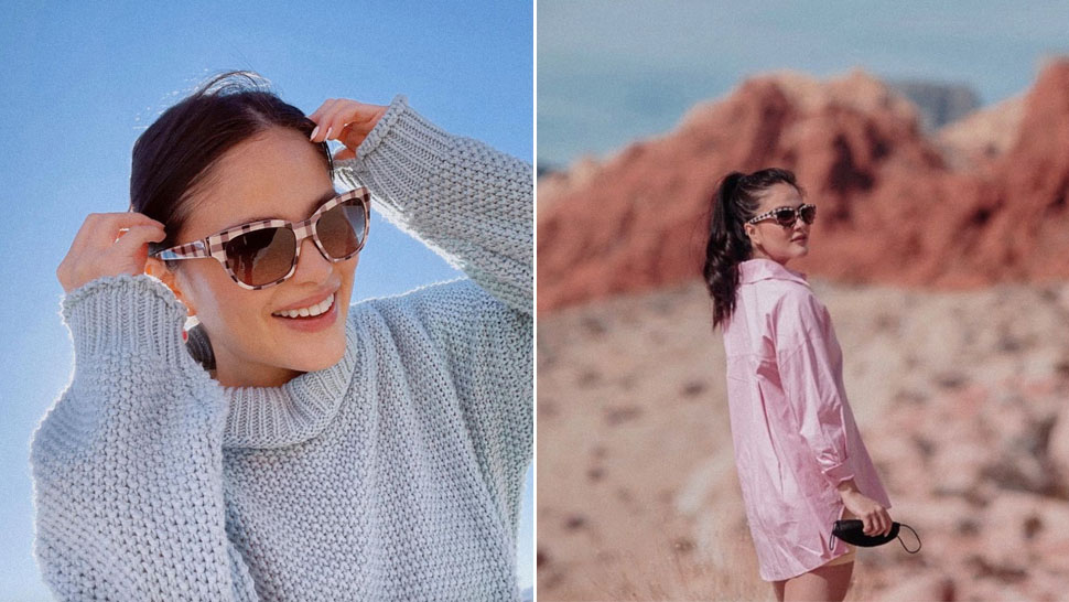 Elisse Joson Is Making a Case for Pastel-Colored Travel OOTDs