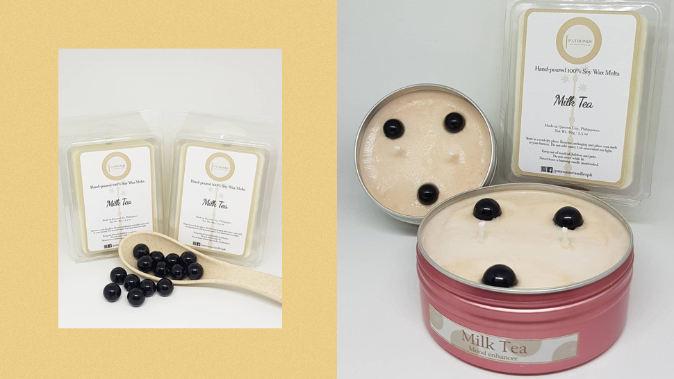 These Scented Candles Will Make Your Room Smell Like Milk Tea