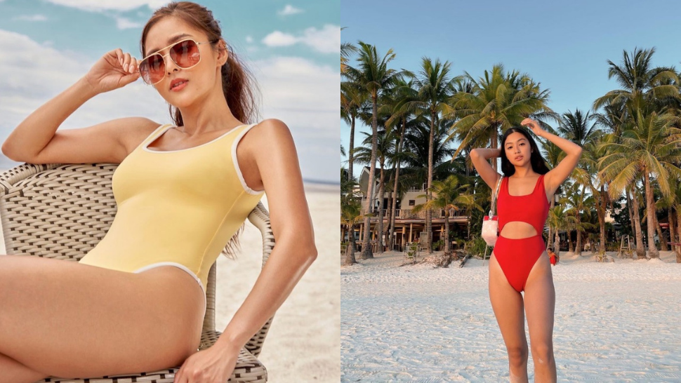 Where To Buy The Exact Colored One-piece Swimsuits That Celebs Are Wearing On Instagram