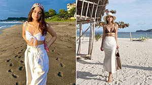 12 Celebrity-approved Ways To Style Your Bikini Top