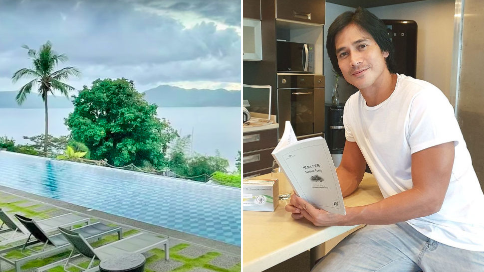All The Beautiful Plants And Scenic Views From Piolo Pascual's Hilltop Mansion Tour