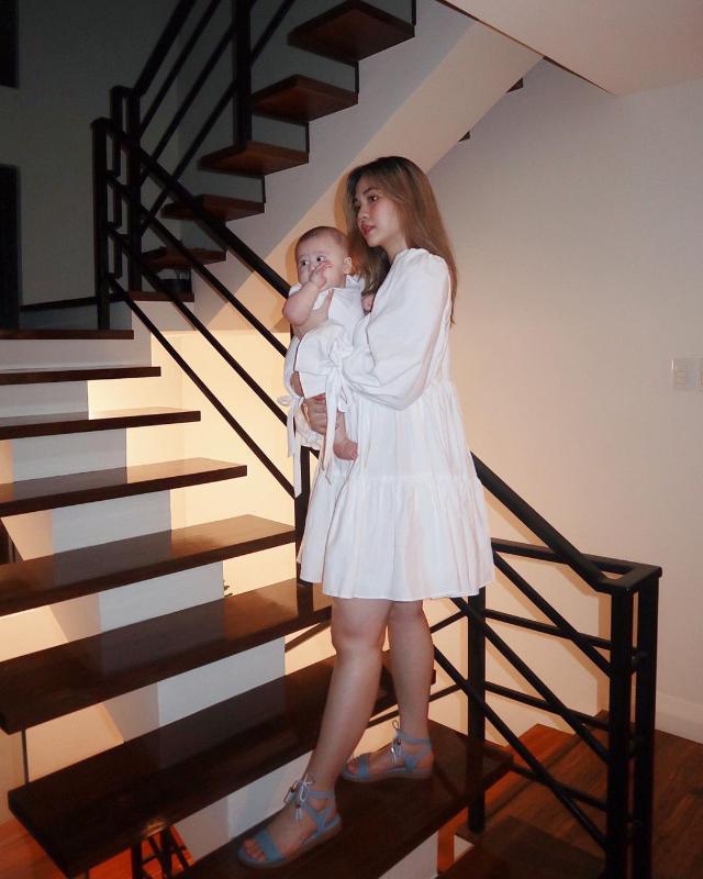celebrity colored shoe outfit Janella Salvador