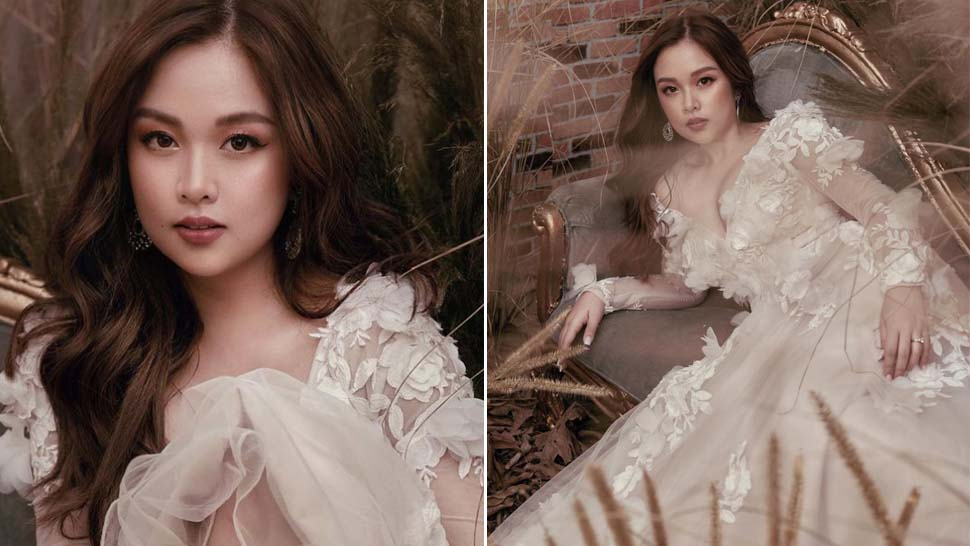 "Hopia From ""goin' Bulilit"" Looks Almost Unrecognizable In Her Stunning Prenup Shoot"