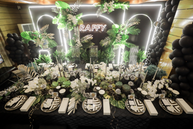 raffy tulfo plantito themed birthday dinner