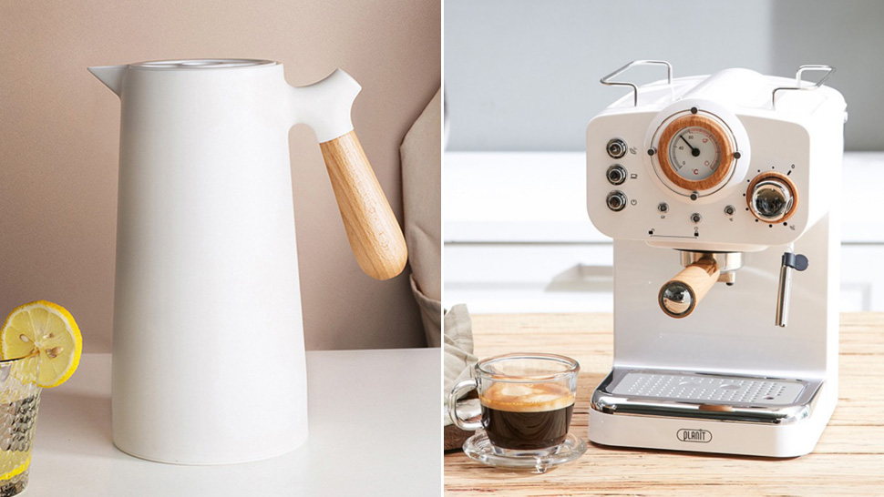 5 Kitchen Appliances That Are Perfect For Your Home's White + Wood Aesthetic