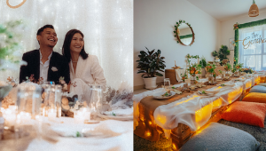 This Couple Held An Aesthetic Diy Wedding At Home With A P40,000 Budget