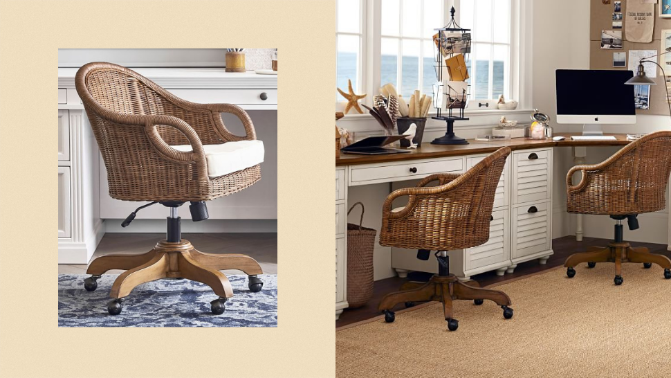 Here's Where You Can Get A Rattan Office Chair For Your Rustic-bohemian Home