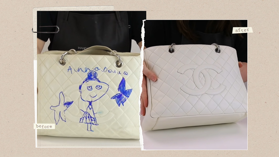 You Have To See How This Expert Removed Ink Stains From A P135,000 Chanel Bag
