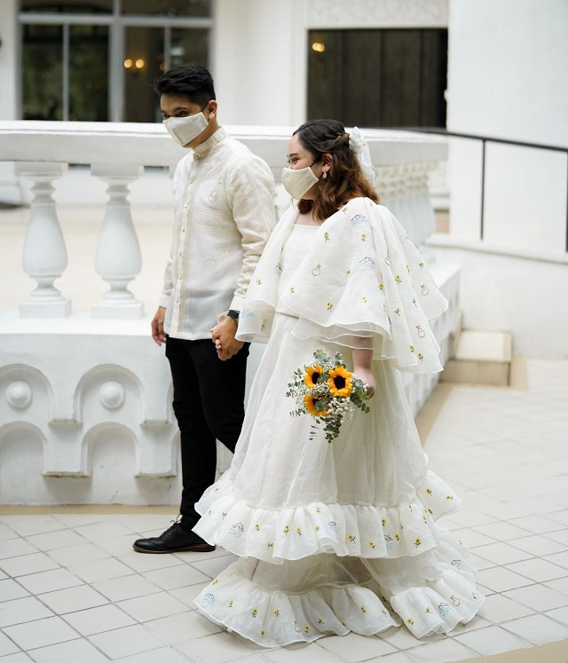 Gabbie Sarenas Wedding Gown