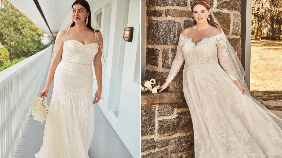 10 of the Best Wedding Gowns for Curvy Brides