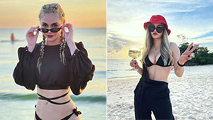 Arci Muñoz Is Making A Case For Black Beach Ootds In Boracay And We're Totally Convinced