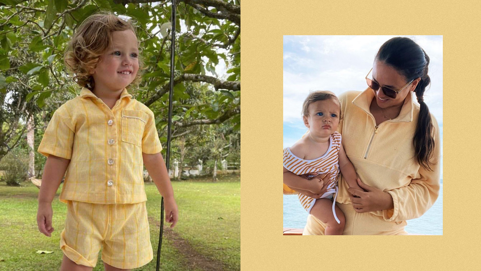 Georgina Wilson Has Been Dressing Her Sons In The Cutest Ootds Featuring Philippine Textiles