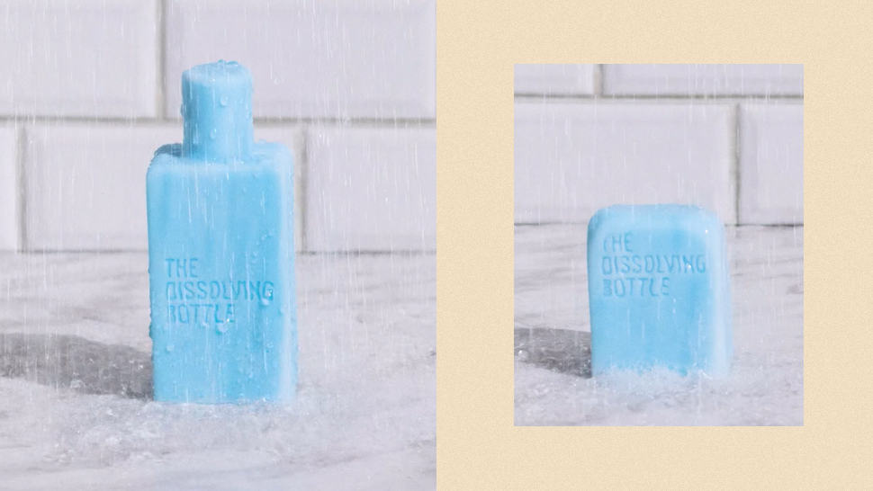 This Filipino-Made Shampoo Bar Is Shaped Like a Bottle But Dissolves Completely