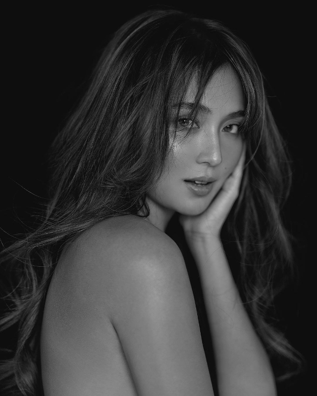 kathryn bernardo 25th birthday black and white photoshoot