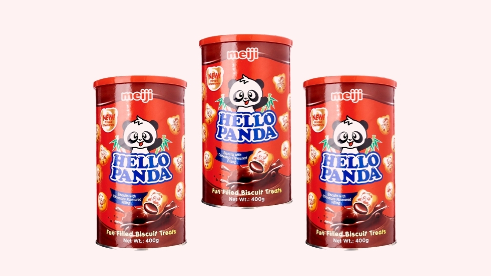 Hello Panda's Classic Chocolate-Filled Biscuits Now Come in a Tub