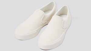 Uniqlo's Cotton Canvas Slip-ons Are The Perfect Sneakers For Minimalists