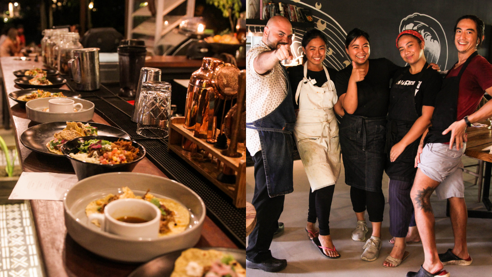 """This Siargao Restaurant Features """"Kitchen Takeovers"""" to Support Community Chefs"""