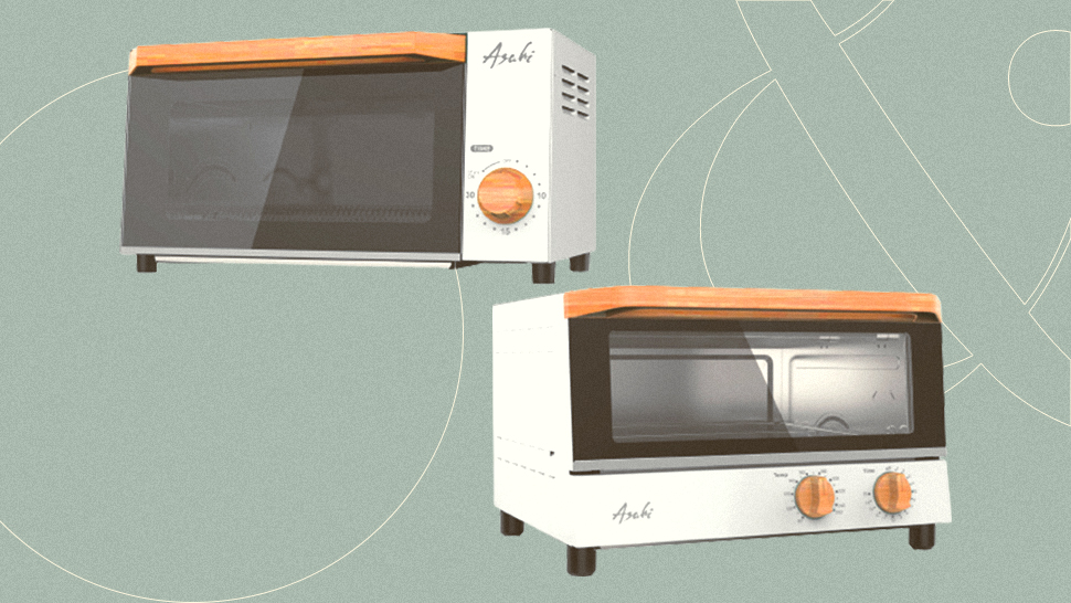 Here's Where You Can Get Aesthetic Oven Toasters With Wooden Accents