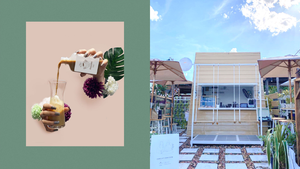 This Quaint Garden-Inspired Café Features Swings and Bike-Friendly Tables