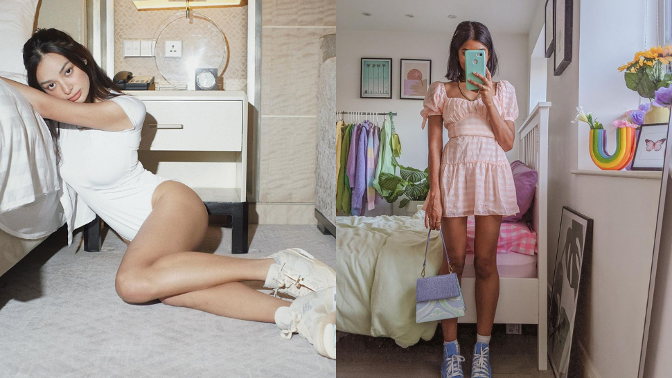 Here's How Take Pretty OOTD Pics at Home When You Live in a Small Space