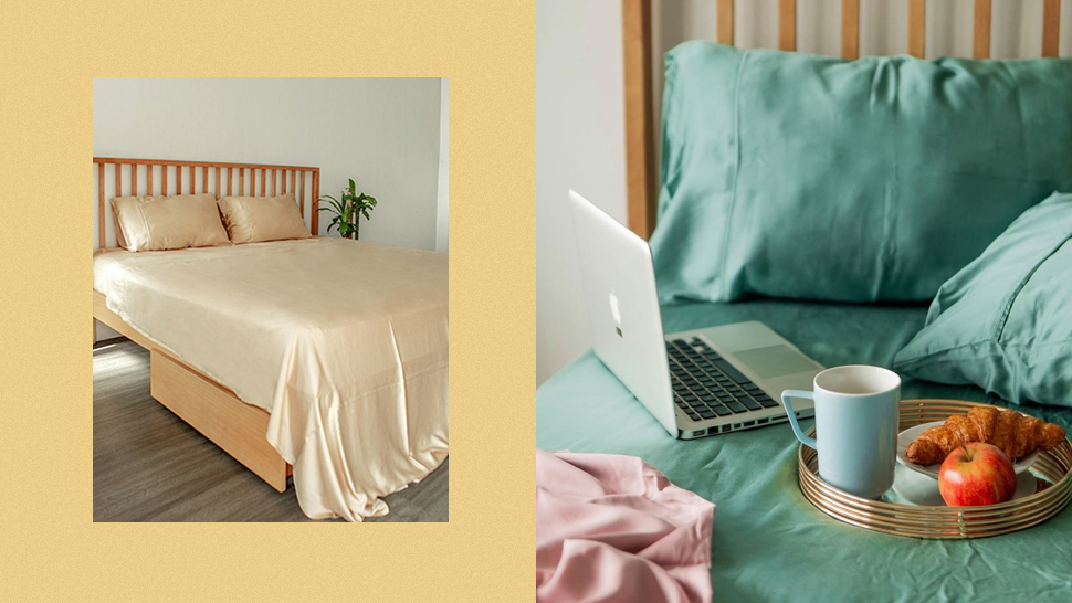 You'll Want To Get These Silky Bed Sheets In Every Color