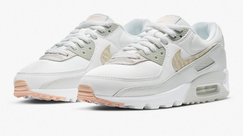 Nike's Air Max 90 Just Got A White And Nude Makeover And We're In Love