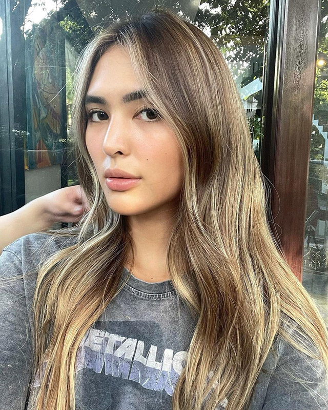 sofia andres bronde hair color