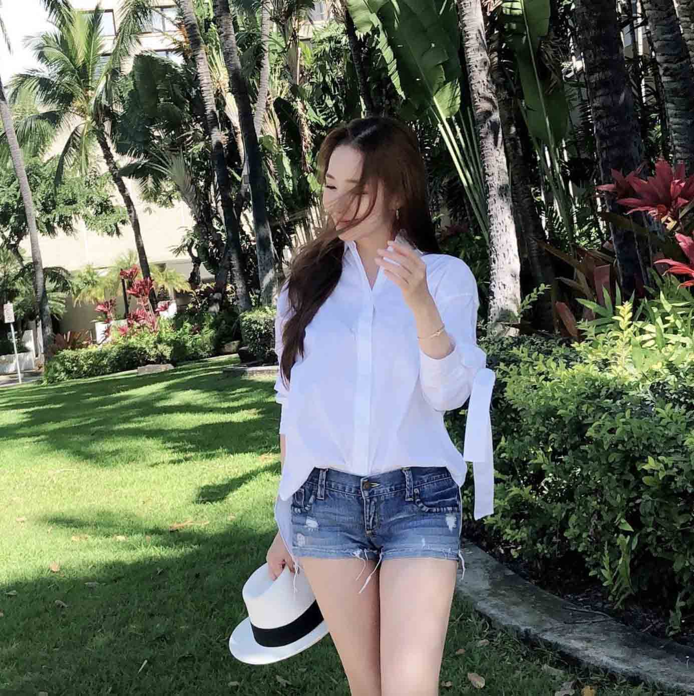 park min young casual style