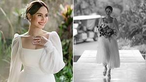 We Love Every Detail Of Jessy Mendiola's Dainty And Minimalist Bridal Look