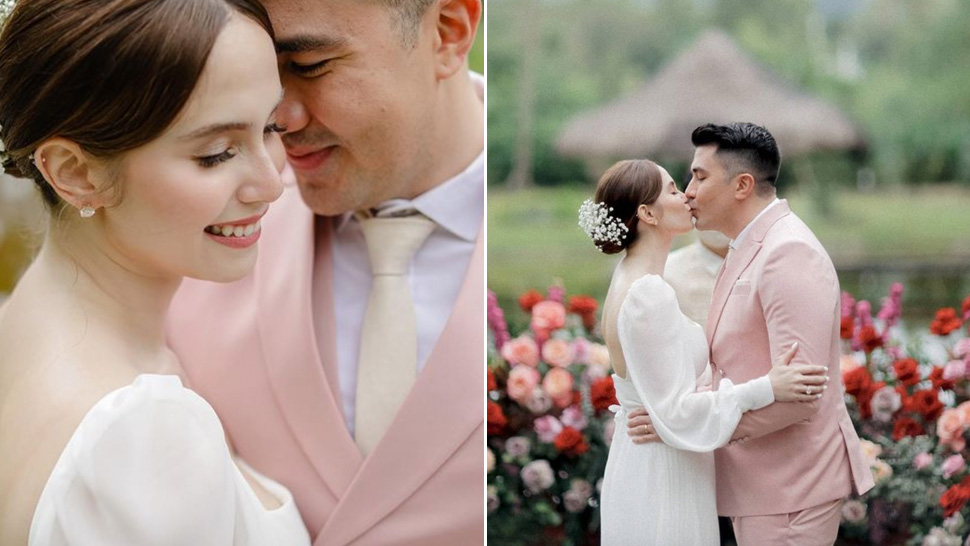 Jessy Mendiola And Luis Manzano Are Officially Married