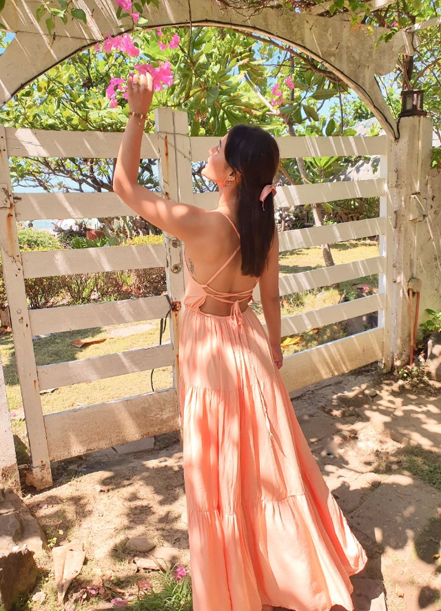 Lovi Poe beach outfits in La Union