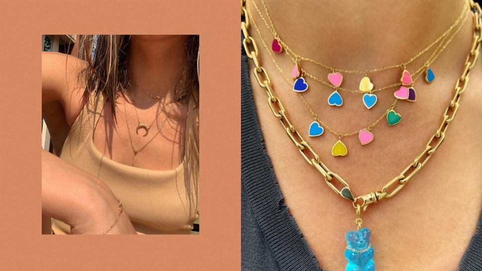 7 Easy And Non-boring Ways To Layer Your Necklaces