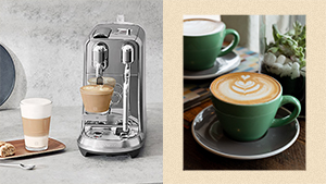 Create Aesthetic Latte Art With This Stylish New Coffee Capsule Machine