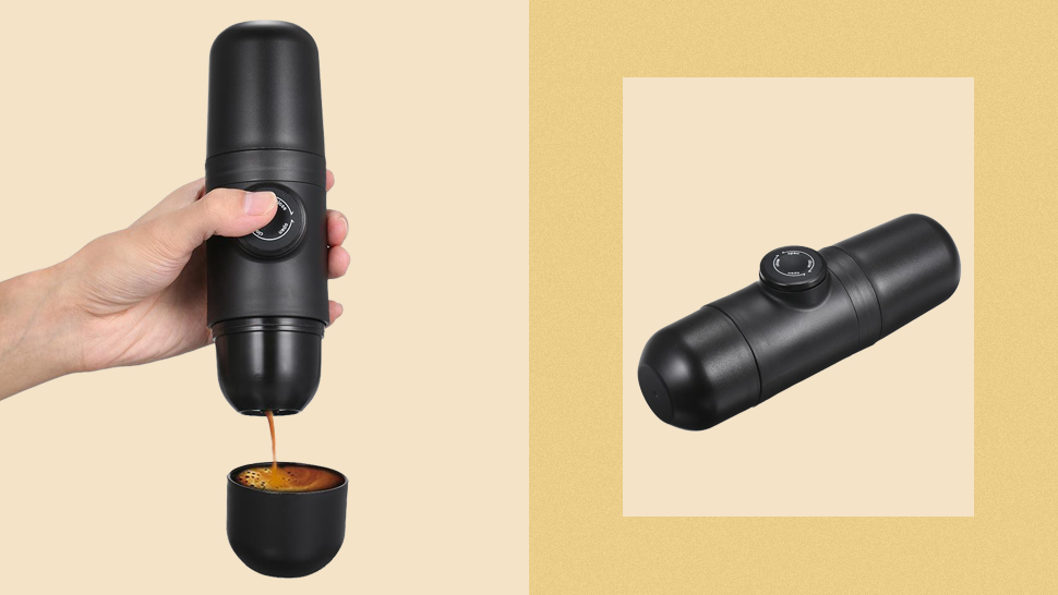 This Portable Espresso Maker Is Perfect If You Don't Have Space For A Coffee Machine