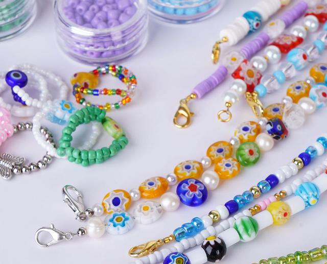 y2k beaded accessories