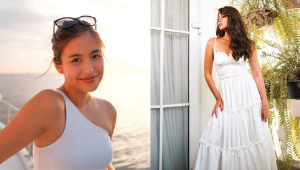 Gabbi Garcia Is Proof That White Outfits Will Always Look Fresh No Matter What