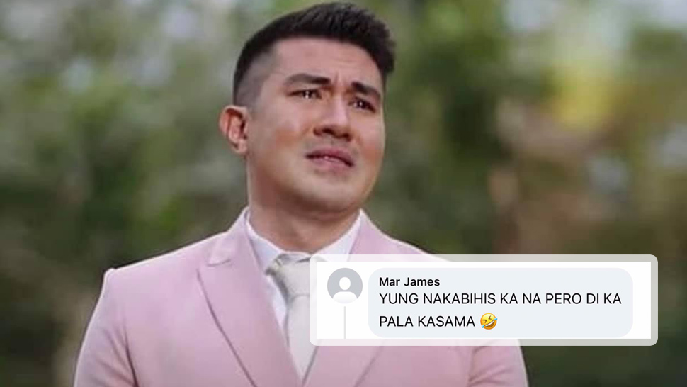 Luis Manzano's Photo Crying on His Wedding Day Is Going Viral and It's Totally Hilarious