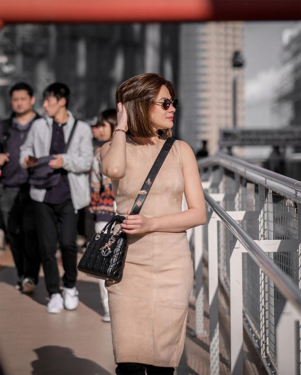 Bea Alonzo designer bag lady dior bag