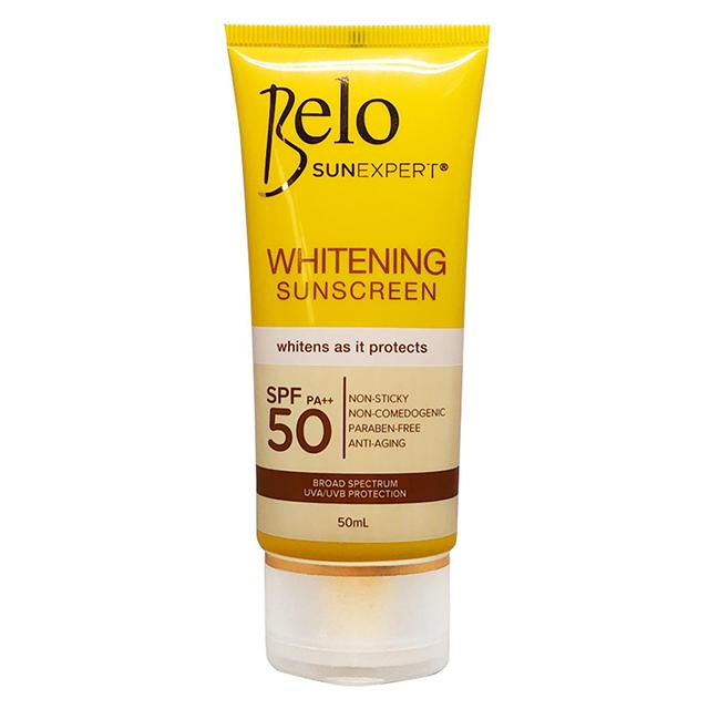whitening sunscreen